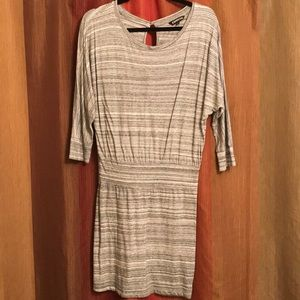 Gray For You Express dress